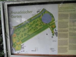 Plattegrond Französischer Garten